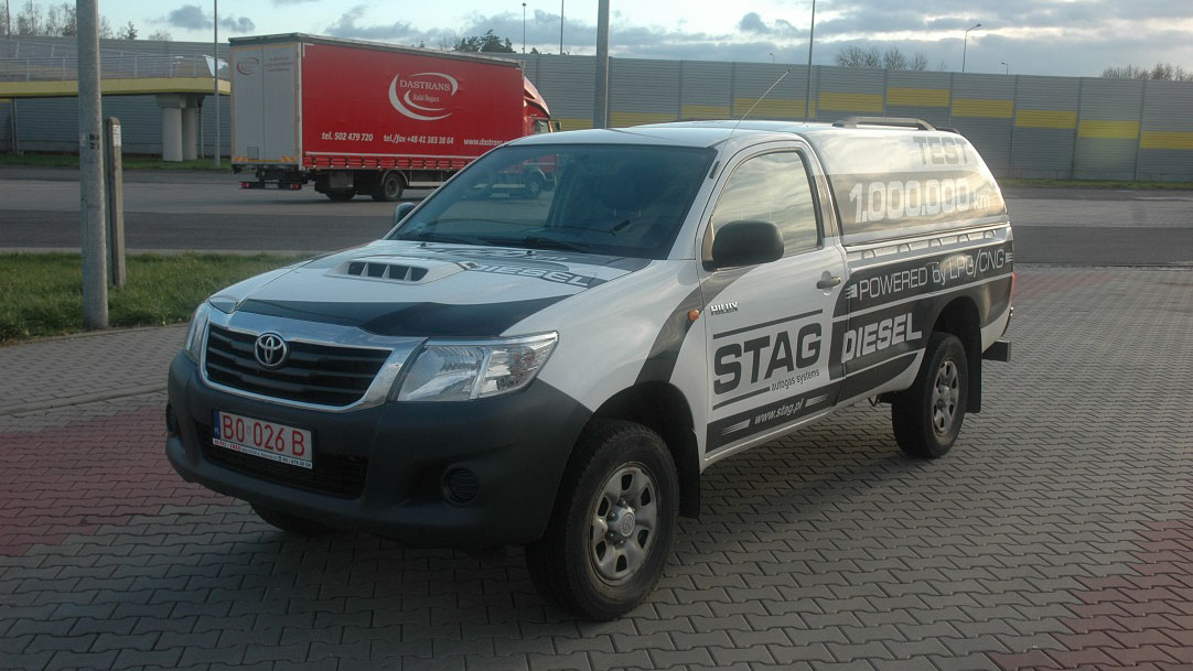 Toyota Hilux diesel-gas - savings and more | gazeo com