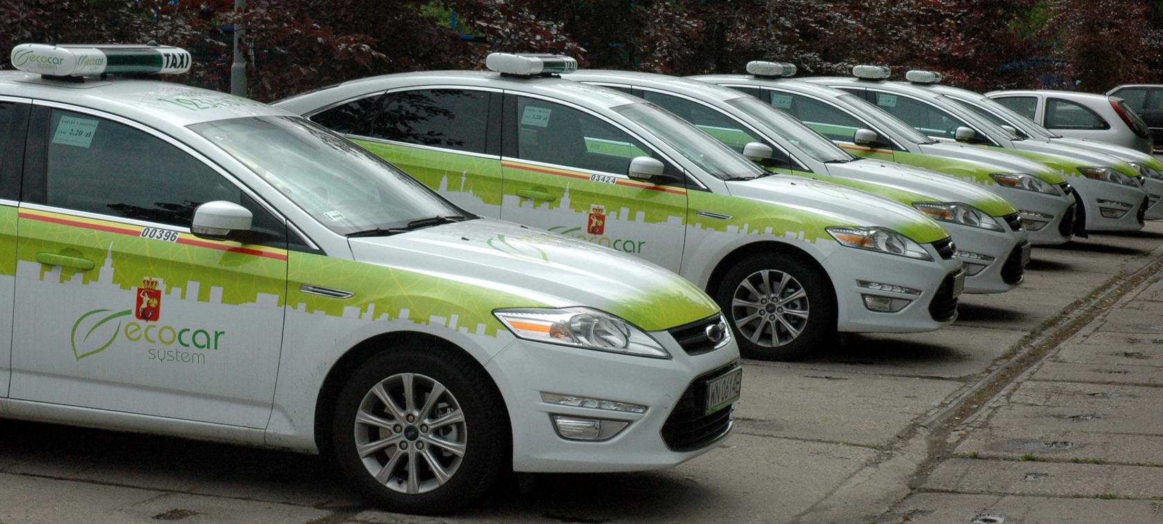 EcoCar System - tomorrow's taxis today