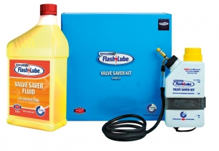 The award-winning Flashlube Electronic Valve Saver Kit Series 2