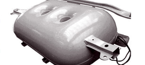 Shaped LPG tanks