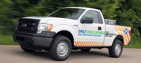 Ford F-150 CNG/LPG - gaseous uniqueness