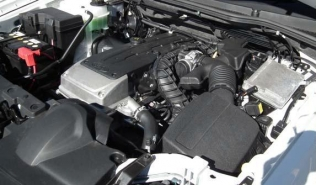 Ford Territory - engine bay