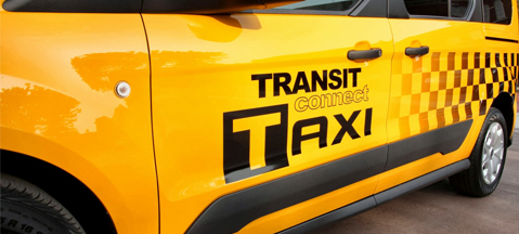Ford Transit Connect Taxi - an affordable fare