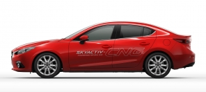 Mazda 3 Skyactiv-CNG Concept - out of the blue