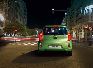 Kia Picanto LPG - rear view