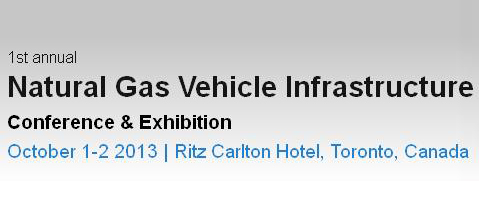 Natural Gas Vehicle Infrastructure Canada 2013