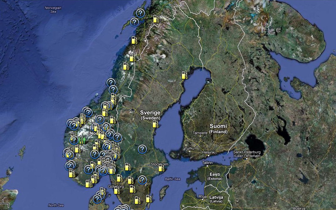 gpl portugal mapa LPG in Scandinavia: it's a gås! | gazeo.com gpl portugal mapa