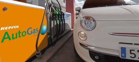 Repsol, Fiat, autogas and Portugal