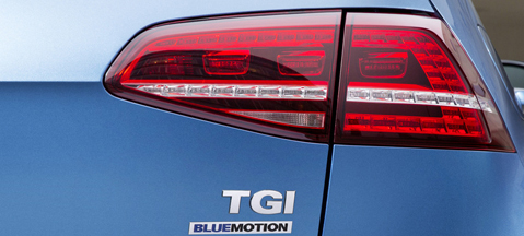 VW Golf TGI BlueMotion - already in use