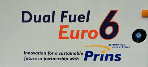 First Euro 6 CNG diesel-gas truck delivered