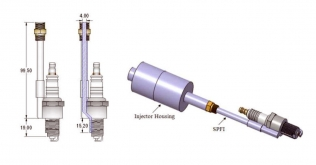 The Spark Plug Fuel Injector
