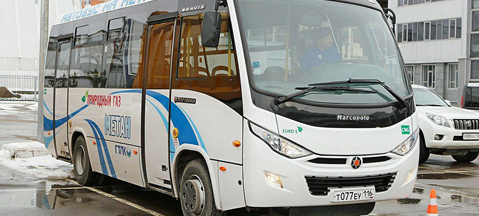 Bravis gas-powered bus will be produced
