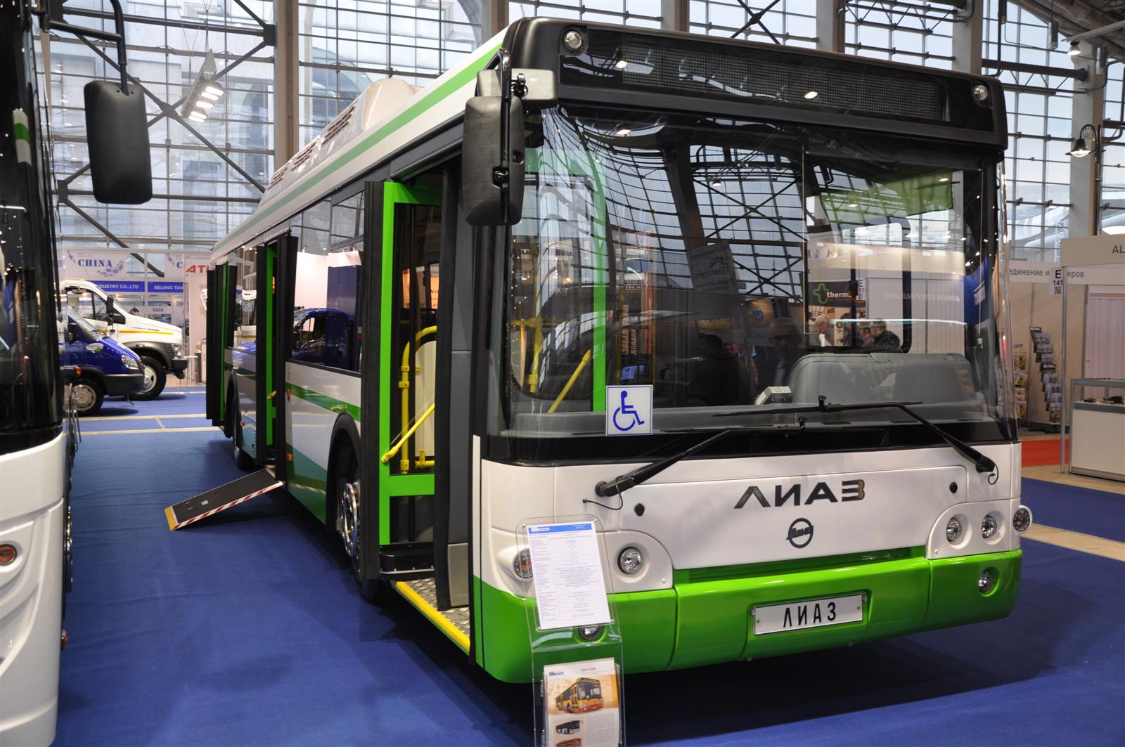 CNG buses in Russia | gazeo com