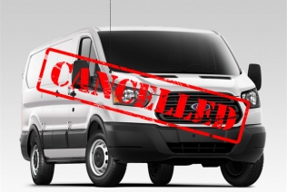 Ford Transit LPG cancelled
