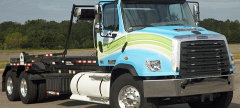Freightliner 114SD CNG/LNG - gentle tough guy
