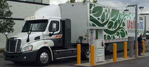 Freightliner Cascadia CNG - US go CNG