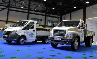GAZelle and GAZon Next CNG
