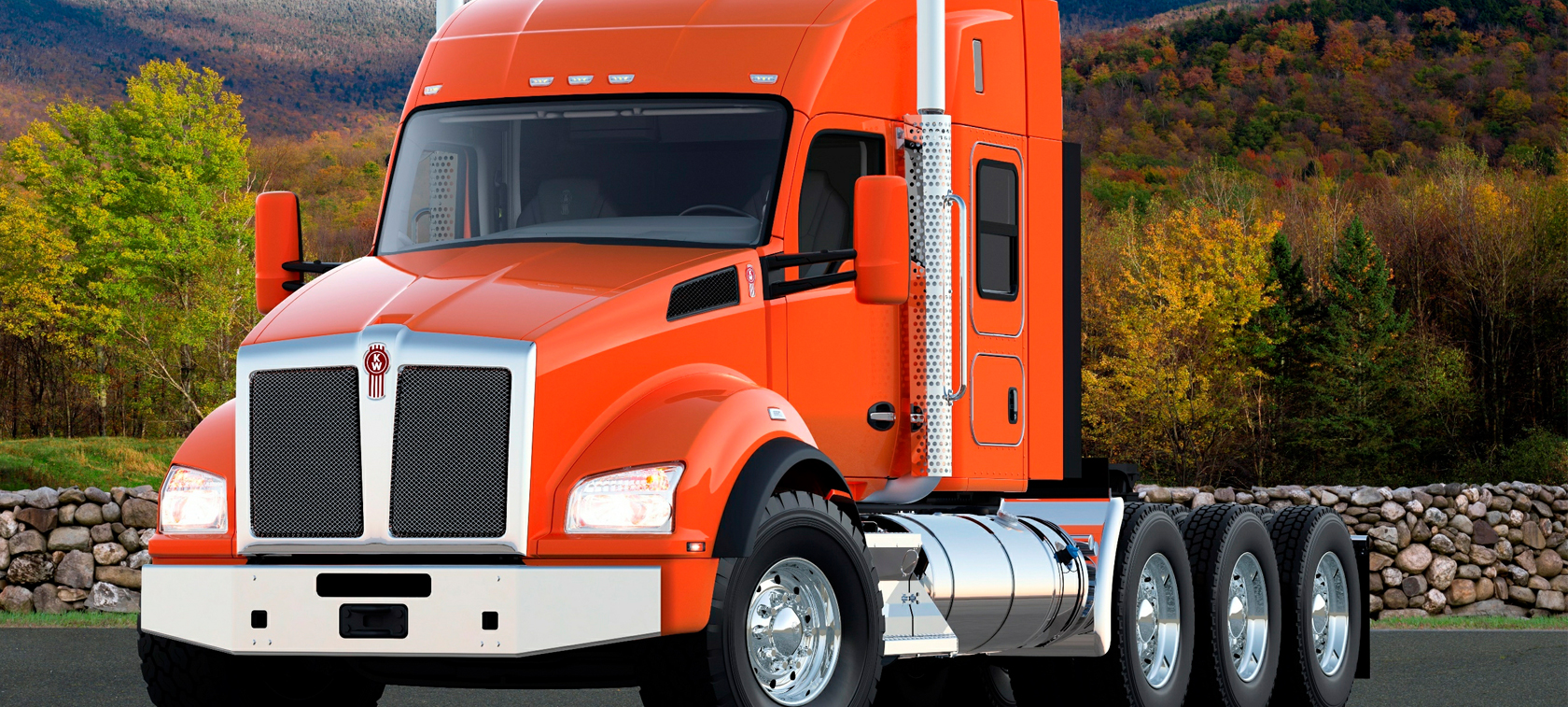 Kenworth T880 CNG/LNG - hard work, low costs