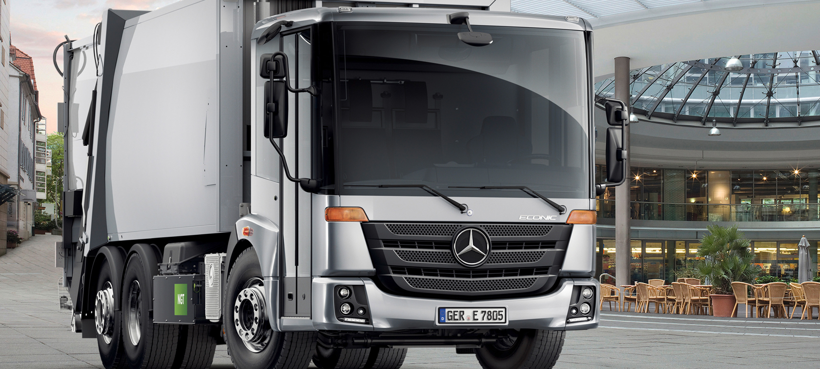 Mercedes Econic NGT 2014 - harder working