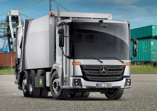 Mercedes Econic NGT as a refuse truck