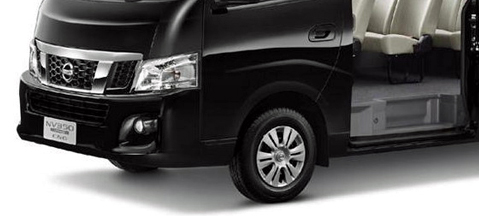 Nissan NV350 Urvan CNG - debut in Thailand