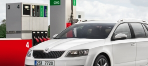 Skoda Octavia G-TEC - fourth in line