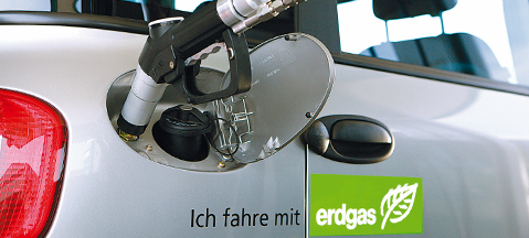 CNG cars successful in Germany