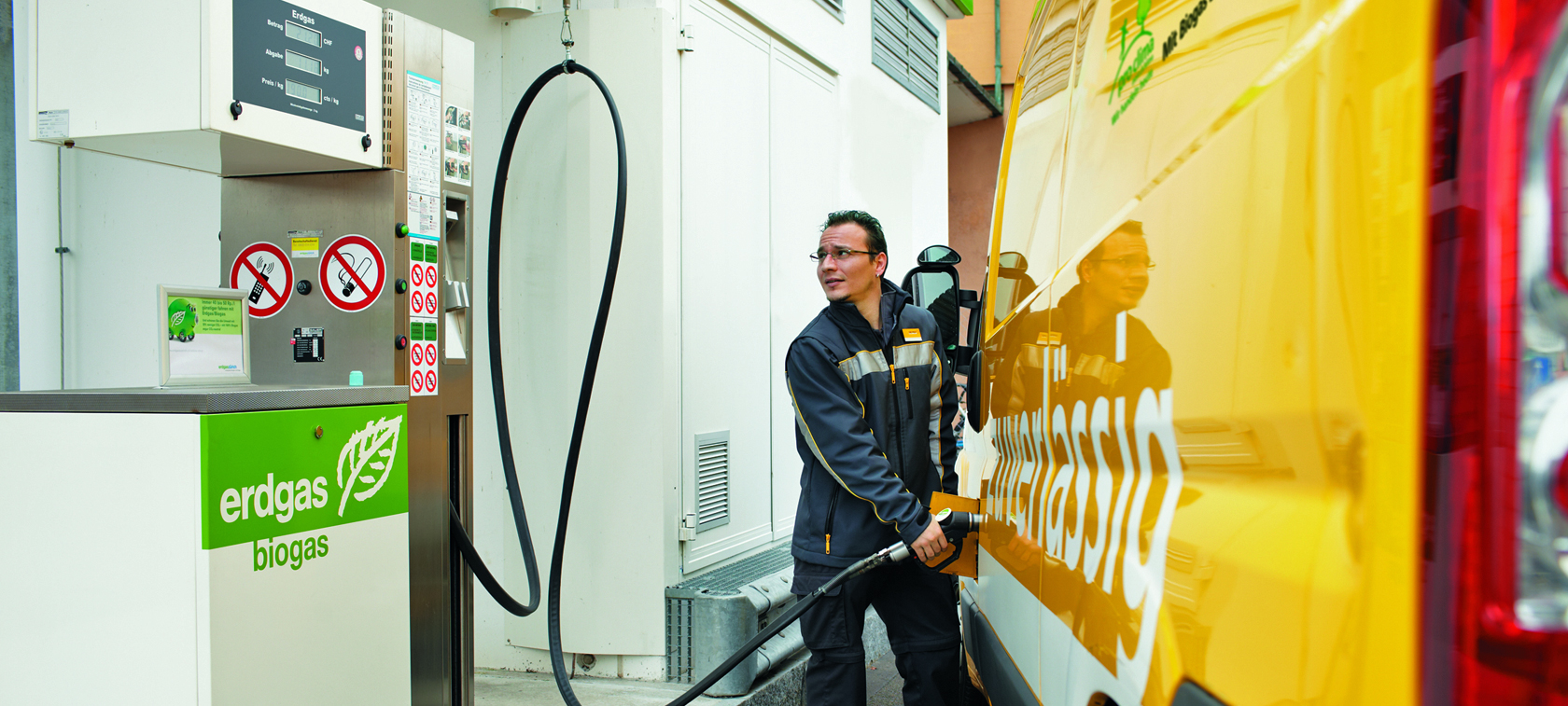 Caddy EcoFuel - leader on the Swiss CNG market