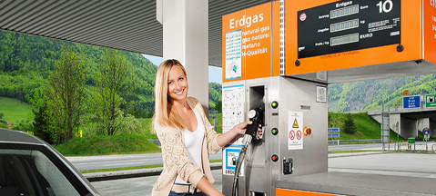 More CNG-powered cars in Austria