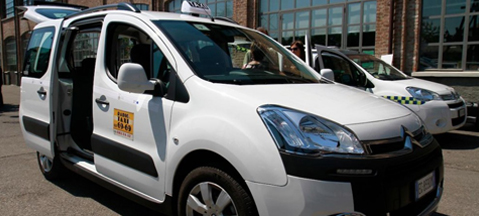 New LPG-powered taxis in Milan