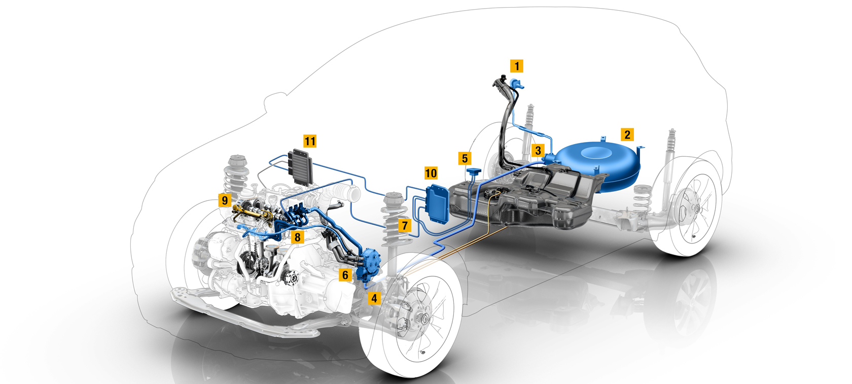Renault builds dedicated LPG engine