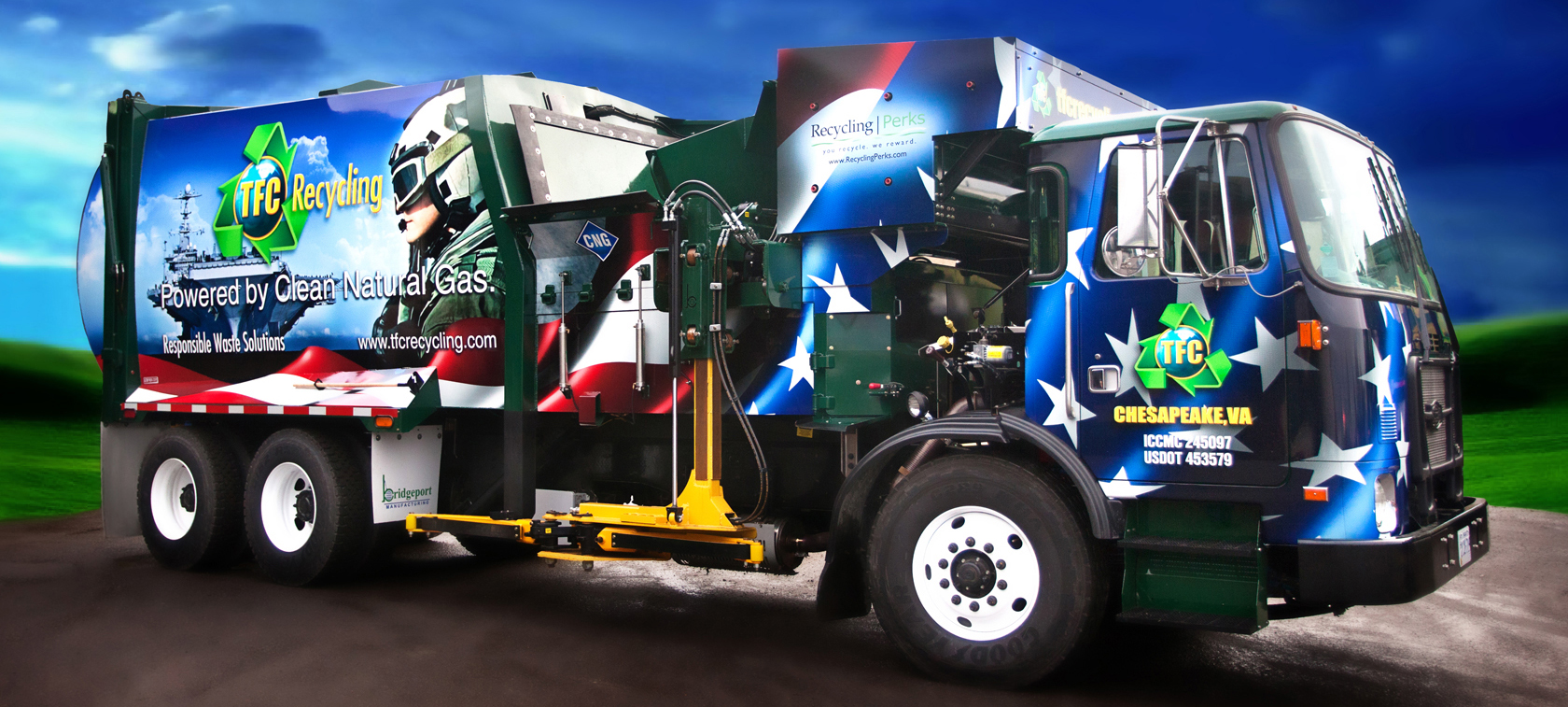 TFC Recycling converting to CNG