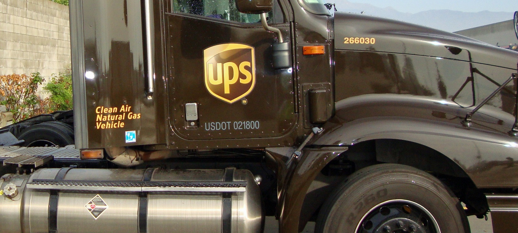 UPS supports alternative fuels