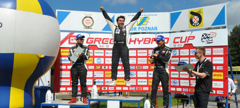 Green Hybrid Cup Poznan 2014 - gas on track!