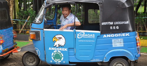 Indonesian CNG in theory and practice