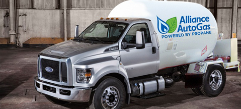 Bi-fuel autogas Ford F-650/F-750 ready
