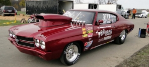Chevrolet Chevelle SS LPG - it's a drag!