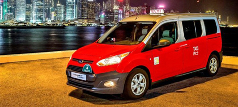 Ford Transit Connect LPG for Hong Kong