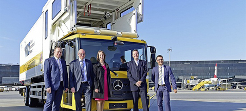 Mercedes Econic NGT goes Viennese