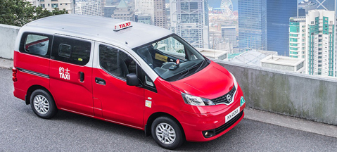 Nissan NV200 Taxi LPG unveiled in Hong Kong
