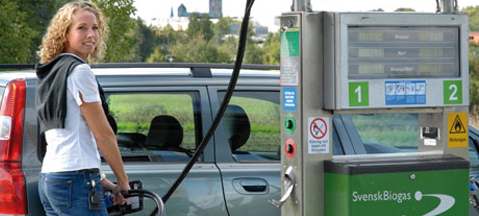 Biomethane proportion in CNG sets record
