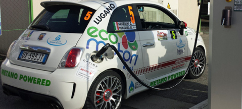 Ecomotori Abarth 500 CNG - natural born winner
