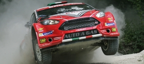 Ford Fiesta LPG third at Rally San Marino