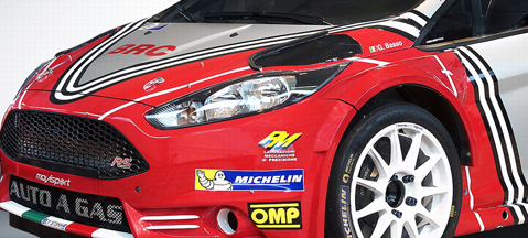 Ford Fiesta R5 LDI changes livery