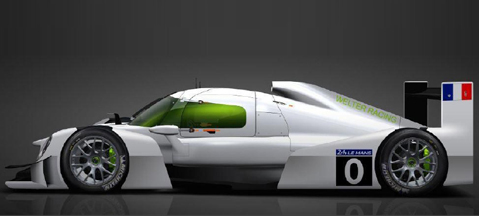 LNG racecar set to start at Le Mans in 2017