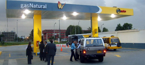 Number of CNG cars up in Colombia