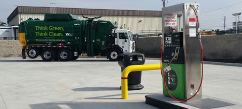 Public CNG station opens in California