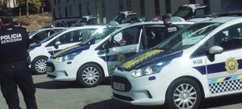 Spanish police switches to autogas
