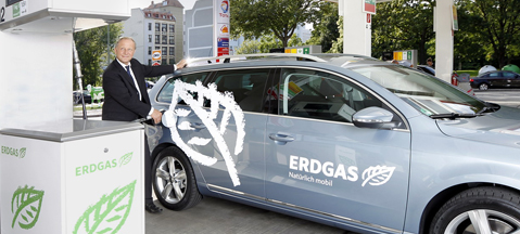 Ten thousand new NGVs in Germany in 2015