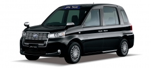 Toyota JPN Taxi goes official